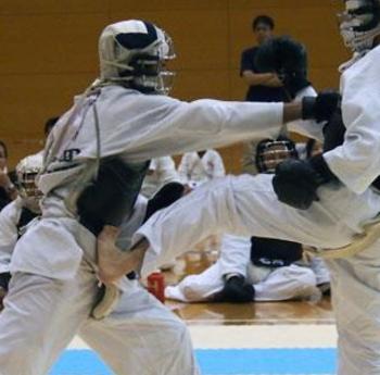 日本拳法の技・テクニックのコツ・ポイント 1